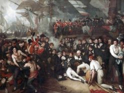 The Death of Nelson | Benjamin West | Oil Painting