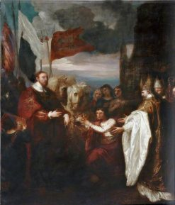 The Presentation of the Crown to William I | Benjamin West | Oil Painting