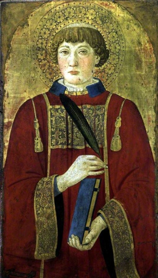 A Martyr Saint (Lawrence?)   Cosimo Rosselli   Oil Painting