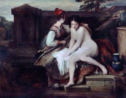 Bathsheba at the Bath | David Wilkie | Oil Painting