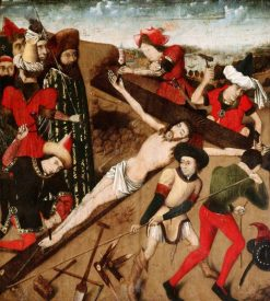Christ Nailed to the Cross | Dutch School th Century   Unknown | Oil Painting