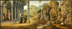 Scenes from the Life of Saint John the Baptist | Francesco Granacci | Oil Painting