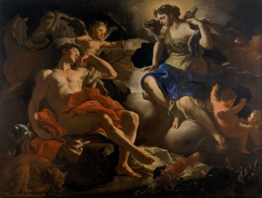 Diana and Endymion | Francesco Solimena | Oil Painting