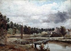 An English River | Frederick Waters Watts | Oil Painting