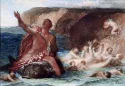 Arion Saved by the Dolphin | George Frederic Watts | Oil Painting