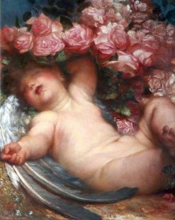 Cupid Asleep | George Frederic Watts | Oil Painting
