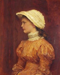 Katie   George Frederic Watts   Oil Painting