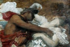 Orpheus and Eurydice (detail study) | George Frederic Watts | Oil Painting