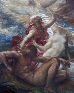 Eve Created | George Frederic Watts | Oil Painting