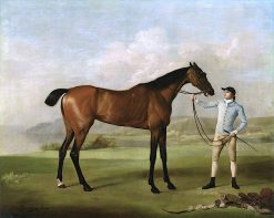 Molly Long-Legs' with Her Jockey | George Stubbs | Oil Painting