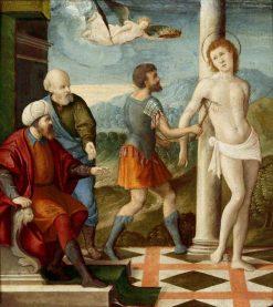 The Martyrdom of Saint Blaise | Girolamo da Santa Croce | Oil Painting