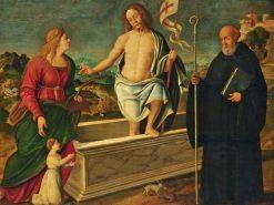 The Resurrection with Saint Catherine of Alexandria