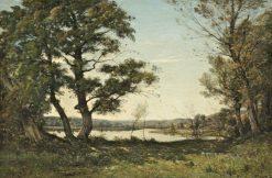 Bord du Loing | Henri Joseph Harpignies | Oil Painting