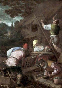 The Sacrifice of Noah   Jacopo Bassano   Oil Painting