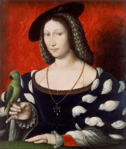Marguerite of Navarre | Jean Clouet | Oil Painting