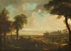 Italian Landscape | John Martin | Oil Painting