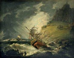 Shipwreck | John Thomas Serres | Oil Painting