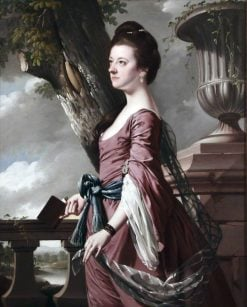 Mrs Frances Hesketh | Joseph Wright of Derby | Oil Painting
