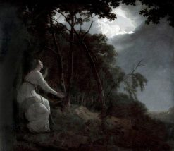 The Lady in Milton's 'Comus' | Joseph Wright of Derby | Oil Painting