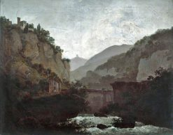 The Convent of San Cosimato | Joseph Wright of Derby | Oil Painting