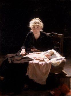 Fantine | Margaret Bernardine Hall | Oil Painting