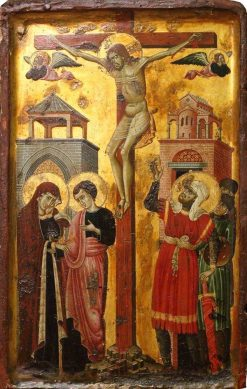 The Crucifixion | Master of Forlì | Oil Painting