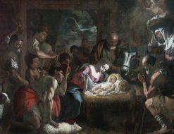 Adoration of the Shepherds   Mattia Preti   Oil Painting