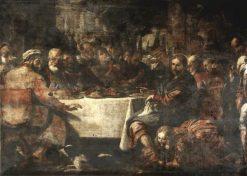 Christ in the House of Simon | Mattia Preti | Oil Painting