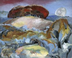 Landscape of the Moon's Last Phase | Paul Nash | Oil Painting