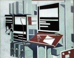 Telecommunications   Paul Nash   Oil Painting