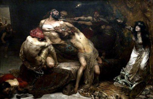 Samson | Solomon Joseph Solomon | Oil Painting