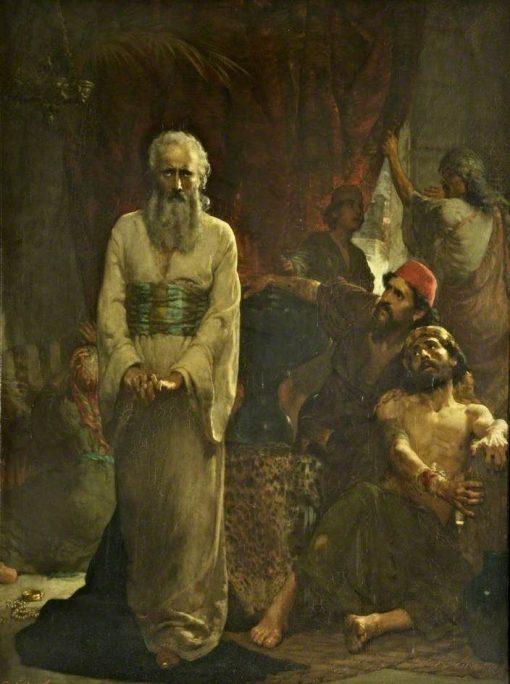 Job | Solomon Joseph Solomon | Oil Painting