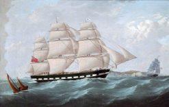 "The Ship ""Lord Elgin""   Stephen Dadd Skillett   Oil Painting"