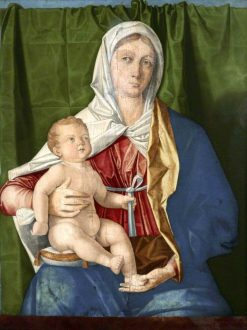 Madonna and Child | Vincenzo Catena | Oil Painting