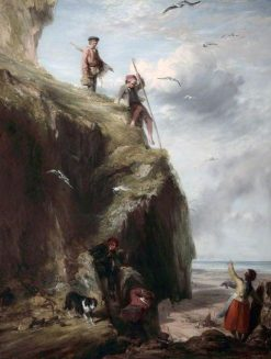 Returning from the Haunts of the Seafowl   William Collins   Oil Painting