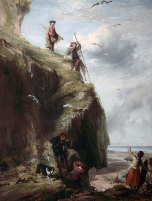 Returning from the Haunts of the Seafowl | William Collins | Oil Painting