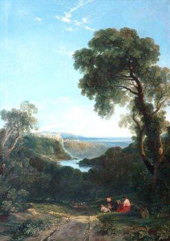 Tivoli   William James Muller   Oil Painting
