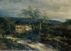 Mountain Landscape | Andreas Achenbach | Oil Painting