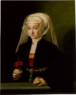 Portrait of a Young Woman | Bartholomaeus Bruyn the Elder | Oil Painting