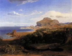 View of Cefalù | Carl Rottmann | Oil Painting