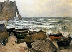 Fishing Boats | Claude Monet | Oil Painting