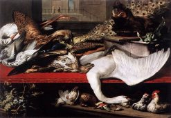 Still Life with Fowl and Game | Frans Snyders | Oil Painting