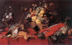 Still Life with a Basket of Fruit | Frans Snyders | Oil Painting