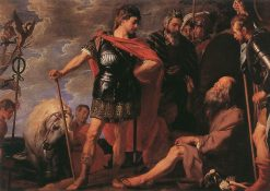 Alexander and Diogenes | Gaspard de Crayer | Oil Painting