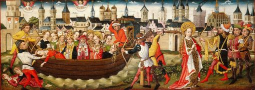 Legend of St Ursula: Return to Basel | German School th Century   Unknown | Oil Painting