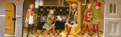 Legend of St Ursula: The Heathen King Sends Envoys asking for Her Hand in Marriage | German School th Century   Unknown | Oil Painting