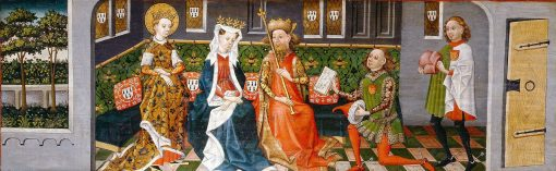Legend of St Ursula: The Parents Give the Envoys their Consent | German School th Century   Unknown | Oil Painting