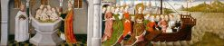 Legend of St Ursula: Baptism of the Companions and Embarkation of St Ursula with her Entourage | German School th Century   Unknown | Oil Painting