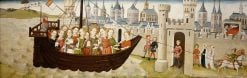 Legend of St Ursula: Arrival in Cologne and St Ursula's Dream | German School th Century   Unknown | Oil Painting