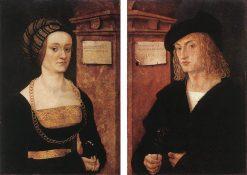Hans and Barbara Schellenberger | Hans Burgkmair | Oil Painting